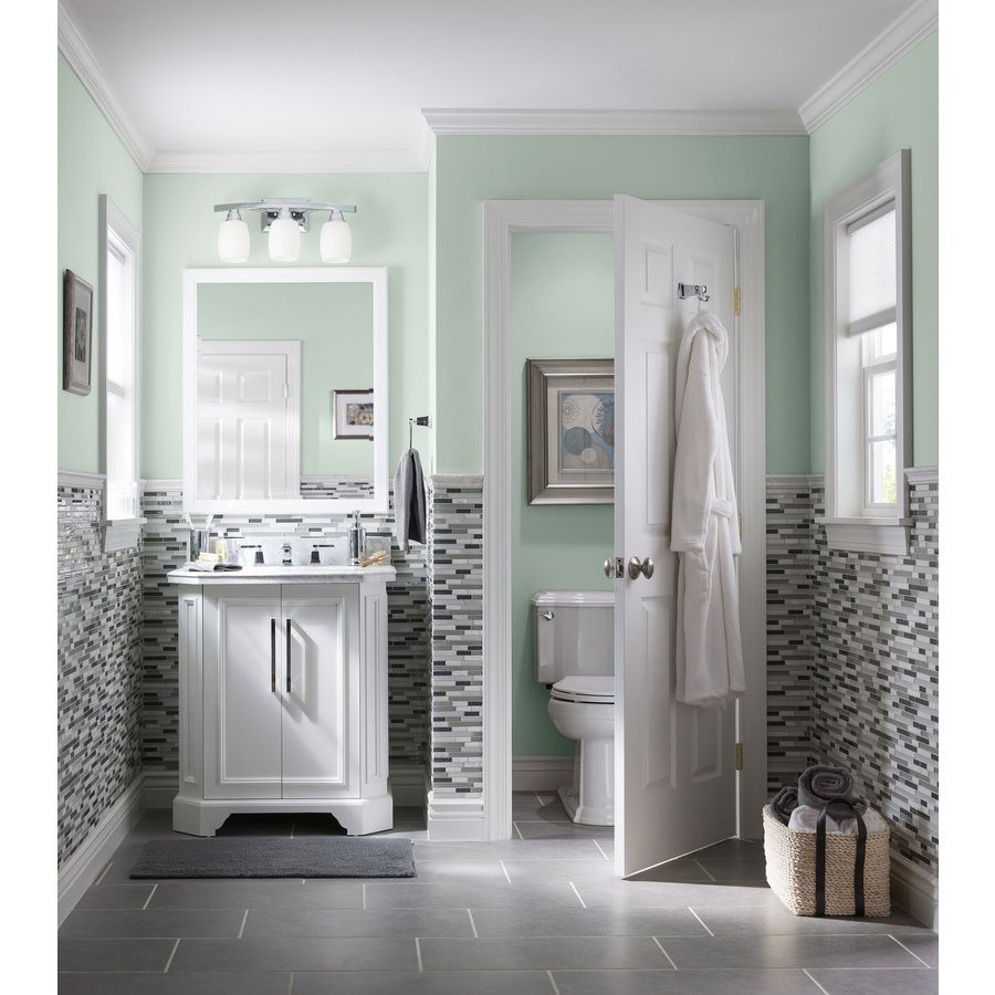 Get A Concrete Cool Look In Your Bathroom With Gray