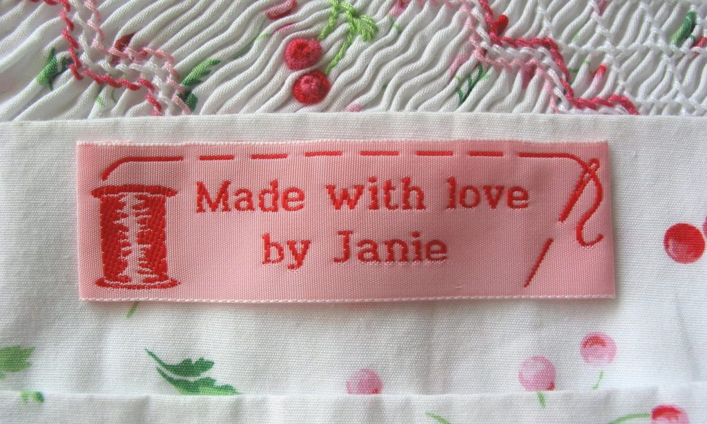 custom sewing labels for handmade items stuff pinterest sewing