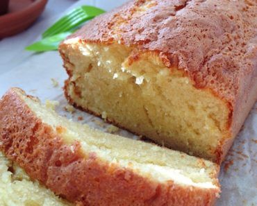 Pound Cake #dessertlegerfacile