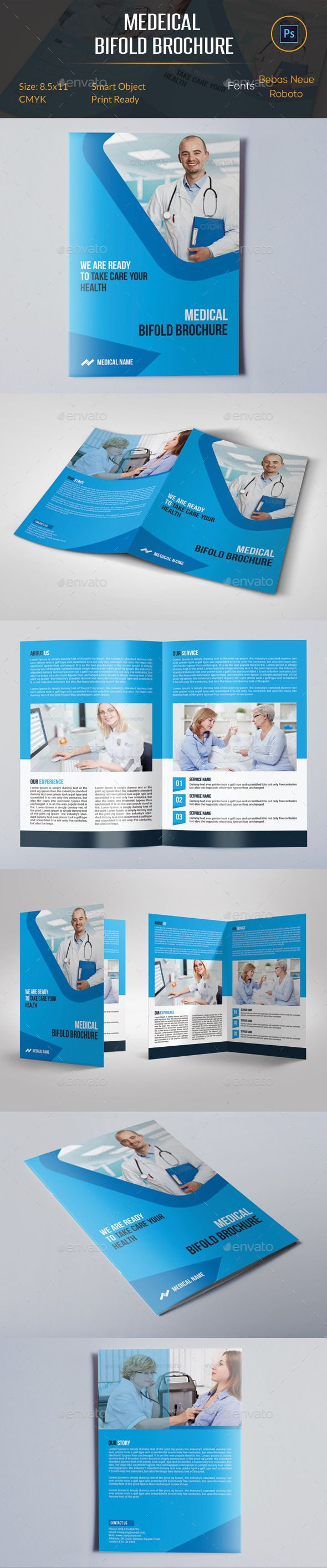 Medical Bifold Brochure  Brochures Medical And Brochure Template
