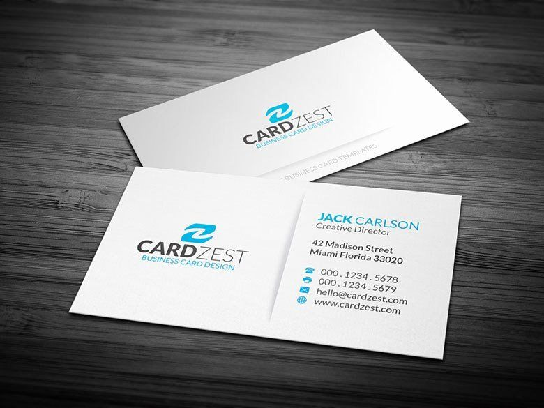 Simple Business Card Template Luxury Name Card Template Free Business Card Templates Simple Business Cards Minimalist Business Cards