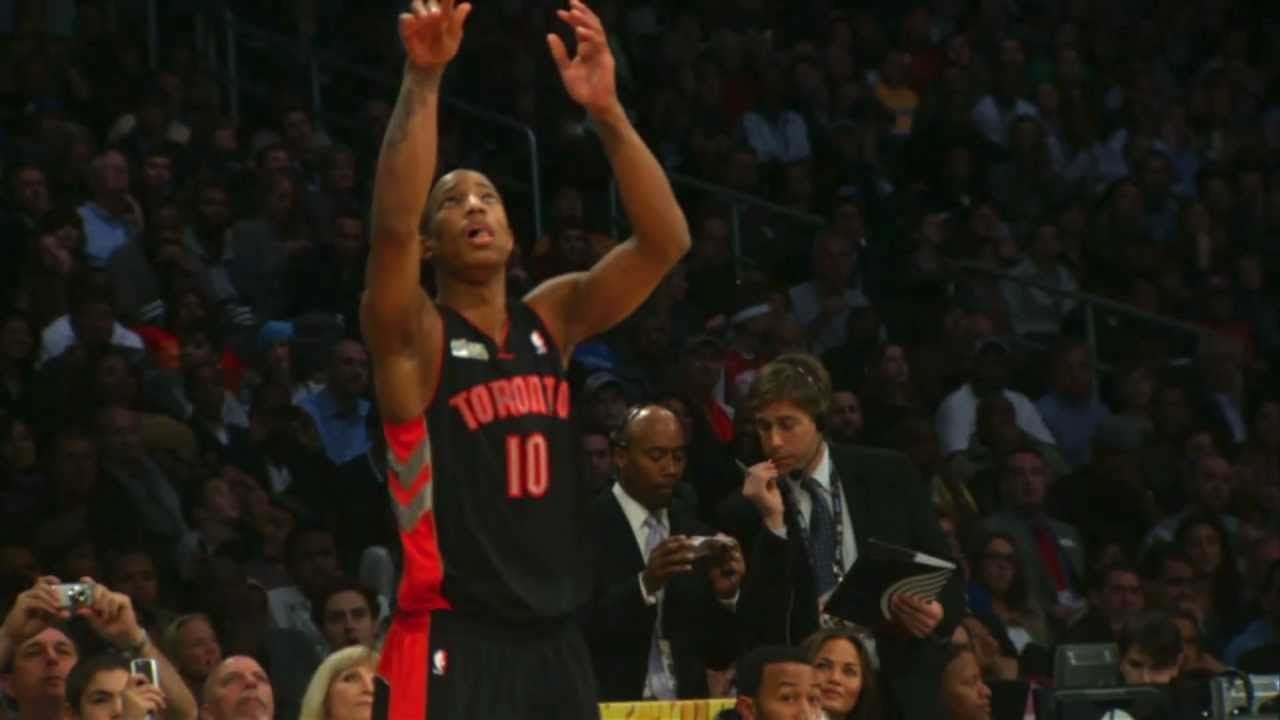 Happy Birthday to DeMar DeRozan! Here's a #throwback to his 2010 and 2011 NBA dunk contest performances! #tbt