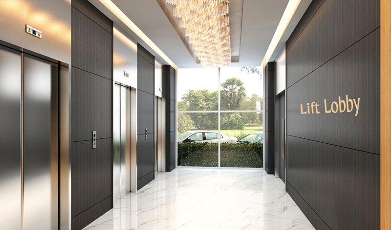Lift Lobby エレベーターホール オフィスロビー エントランス