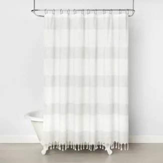 Shop Target For Shower Curtains Shower Curtain Liners And Other Accessories Free Shippi Gray Shower Curtains Striped Shower Curtains Farmhouse Shower Curtain