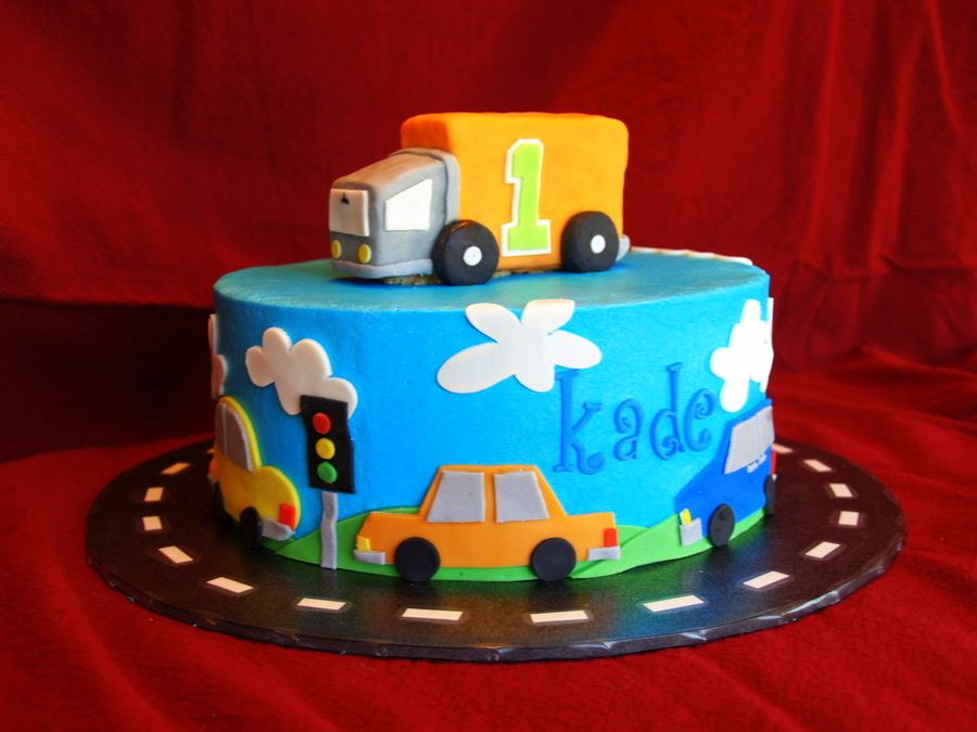 Cars and Trucks truck party Pinterest Cars Birthdays and Cake