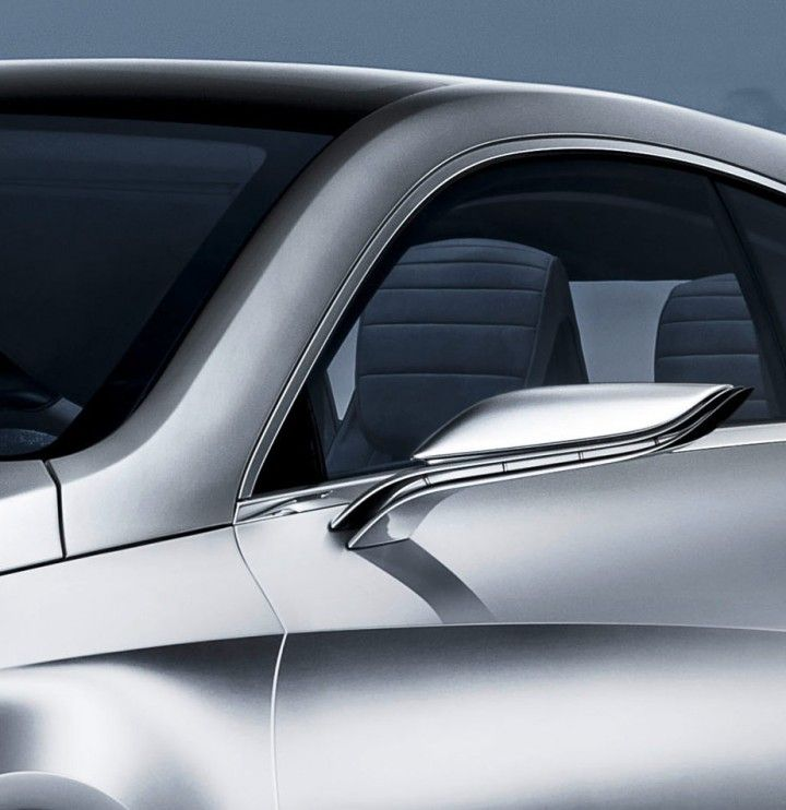 Mercedes benz concept a class side view mirror for Mercedes benz side mirror