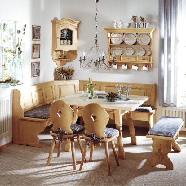 Eckbankgruppe Kufstein Landhaus Mobel Rustikales Zimmer Bauernhaus Mobel
