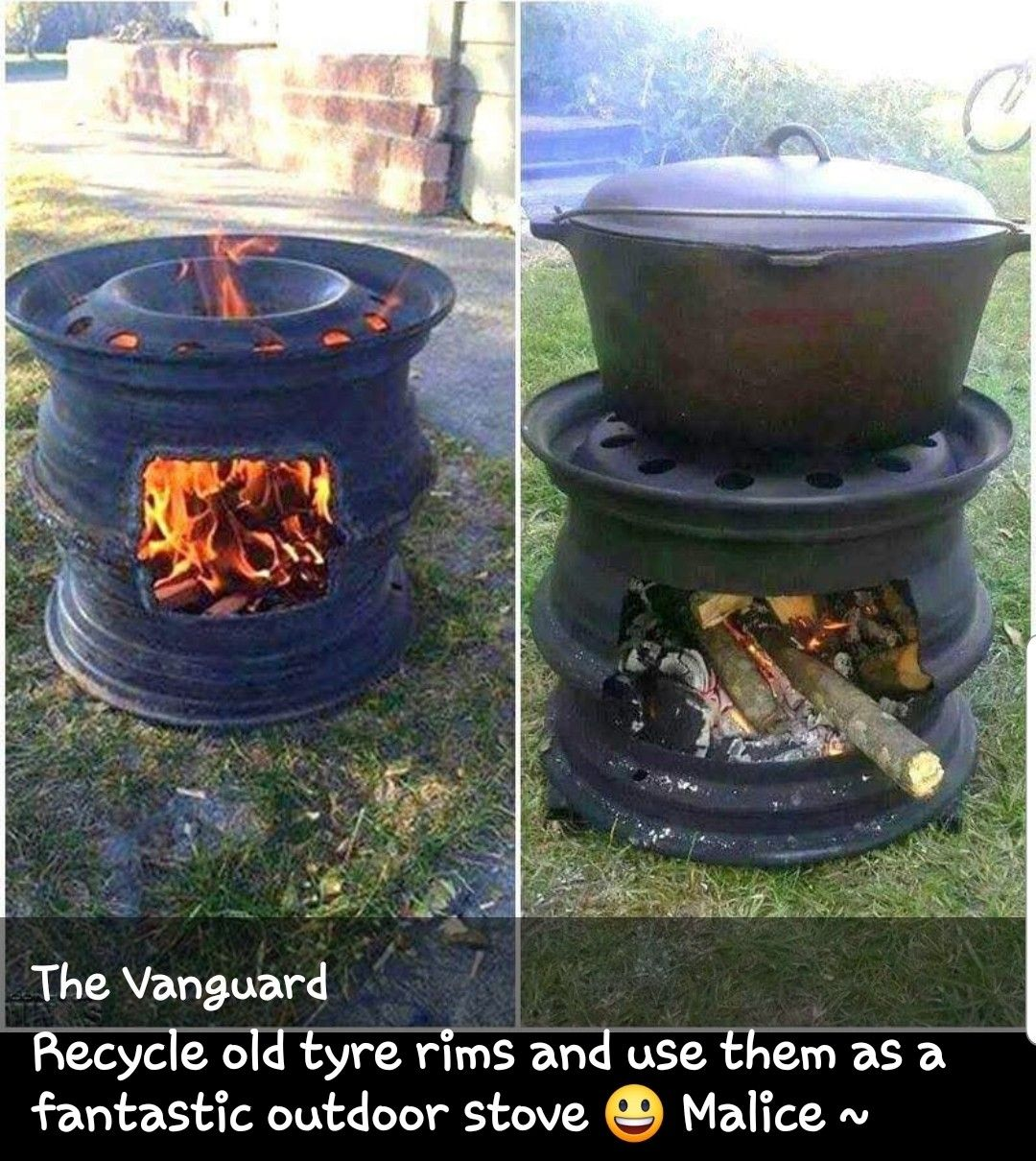 Pin by Dee Brumit on CAMPING 101 | Fire pit backyard diy ...