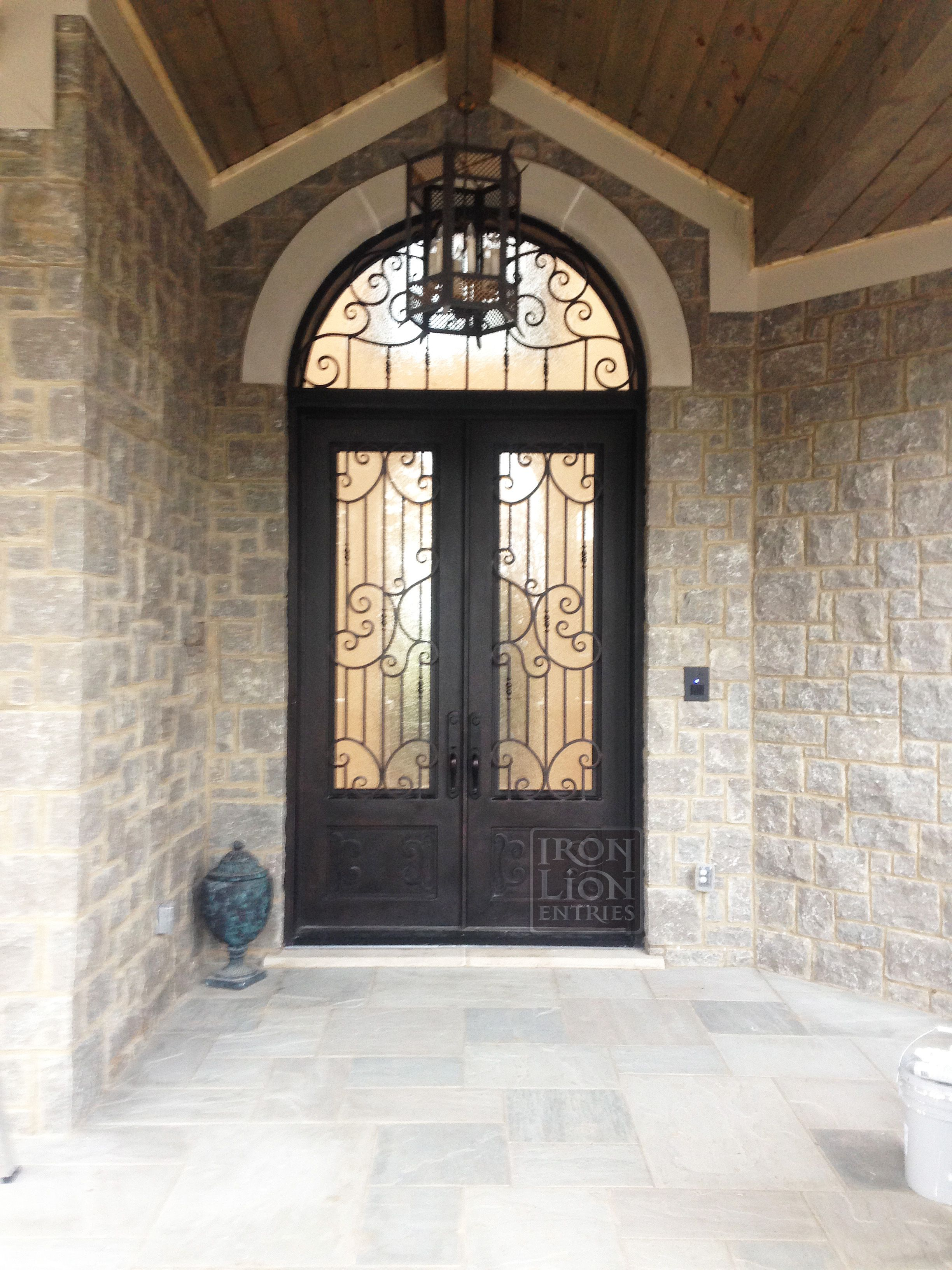 Wrought Iron Entry Door Ironentrydoor Iron Door Custom Iron Door