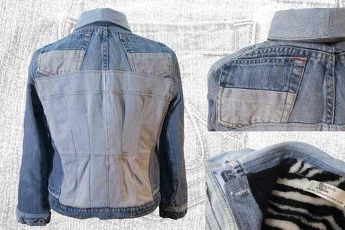 Pinterest Re Recicladas De Utilizar Jeans Chaquetas 6qXUR0nn