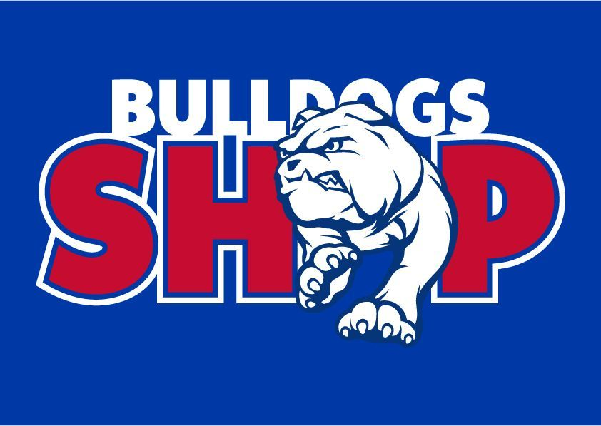 The New Bulldogs Shop Logo What Do You Think Bemorebulldog Bulldoglogo Western Bulldogs Bulldog Rescue Dogs