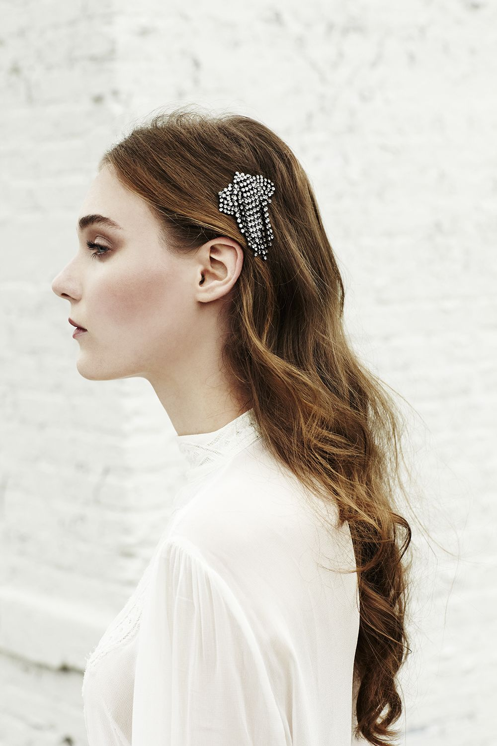 THE GIRL WITH THE PRETTIEST HAIR - Jennifer Behr Petite Waterfall ...