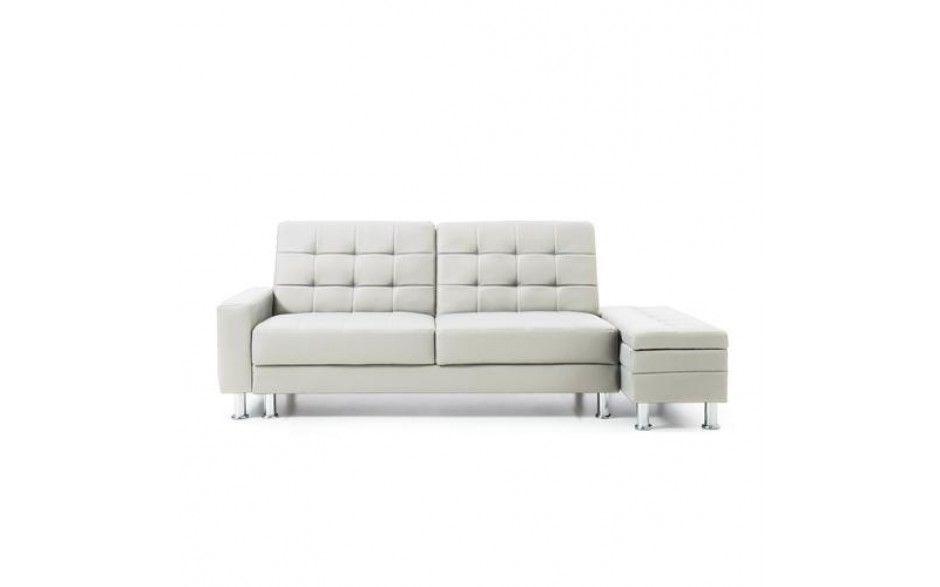 Magnificent 2 3 Seater Faux Leather Sofa Bed Modern Couch W Storage Inzonedesignstudio Interior Chair Design Inzonedesignstudiocom