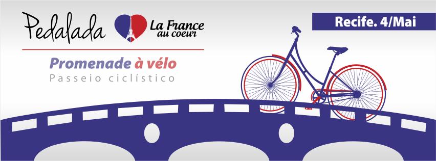 Taís Paranhos: Passeio ciclístico com toque francês no Recife
