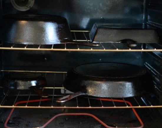 how to reseason cast iron pans