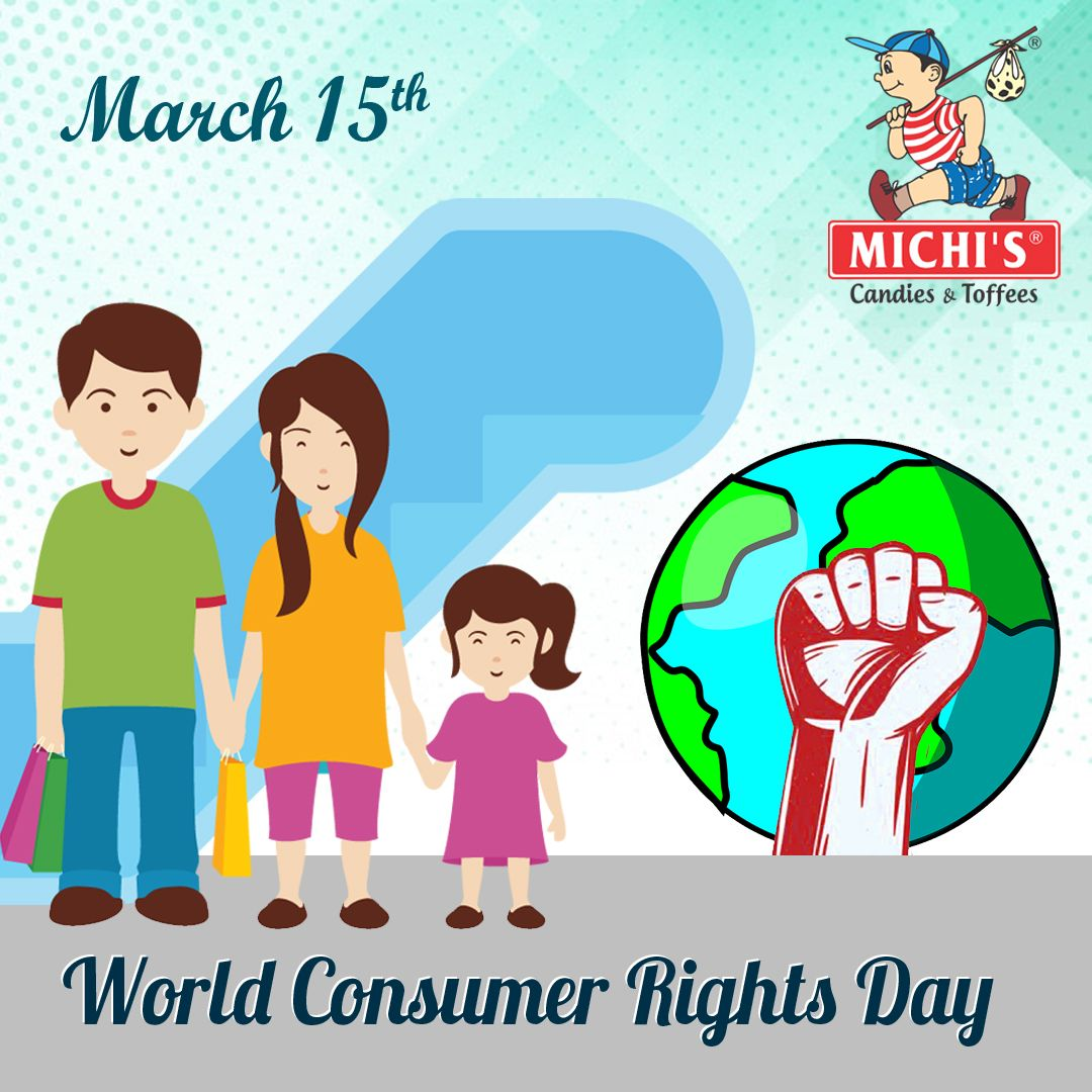 Let S Raise The Global Awareness Of Consumer Rights And Needs Celebrate The Day And Wish That The Rights Of All Consumers Are R Global Awareness Awareness Day