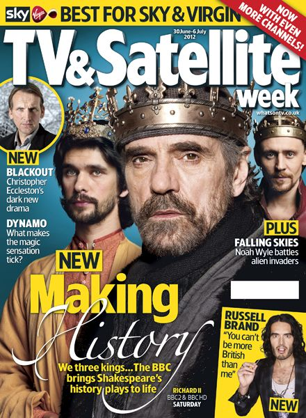hollow crown tv and satellite weekly