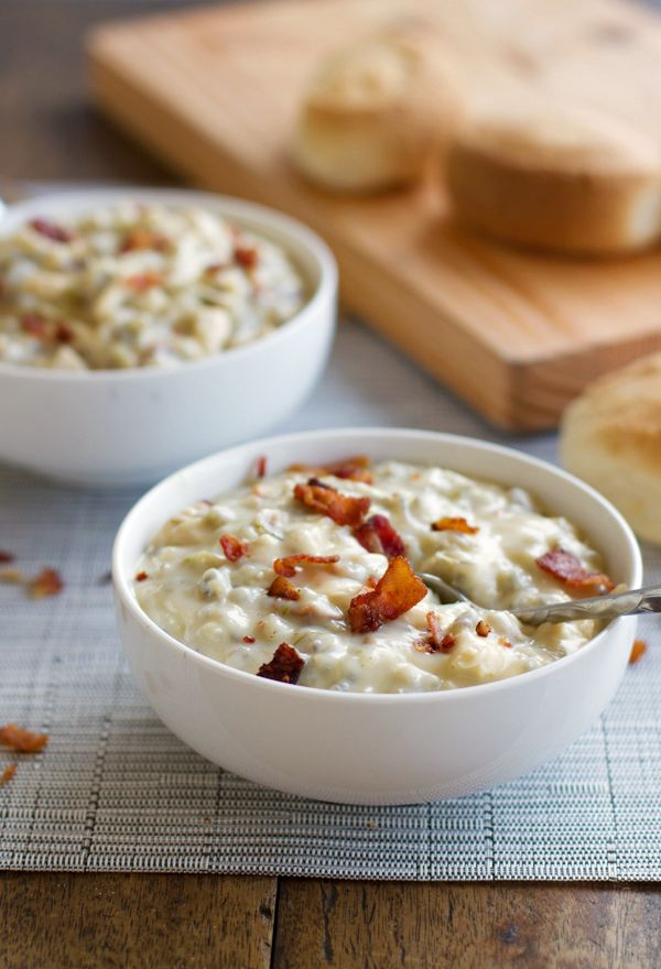 Chicken Bacon Wild Rice Soup Recipe Soups And Stews Pinterest
