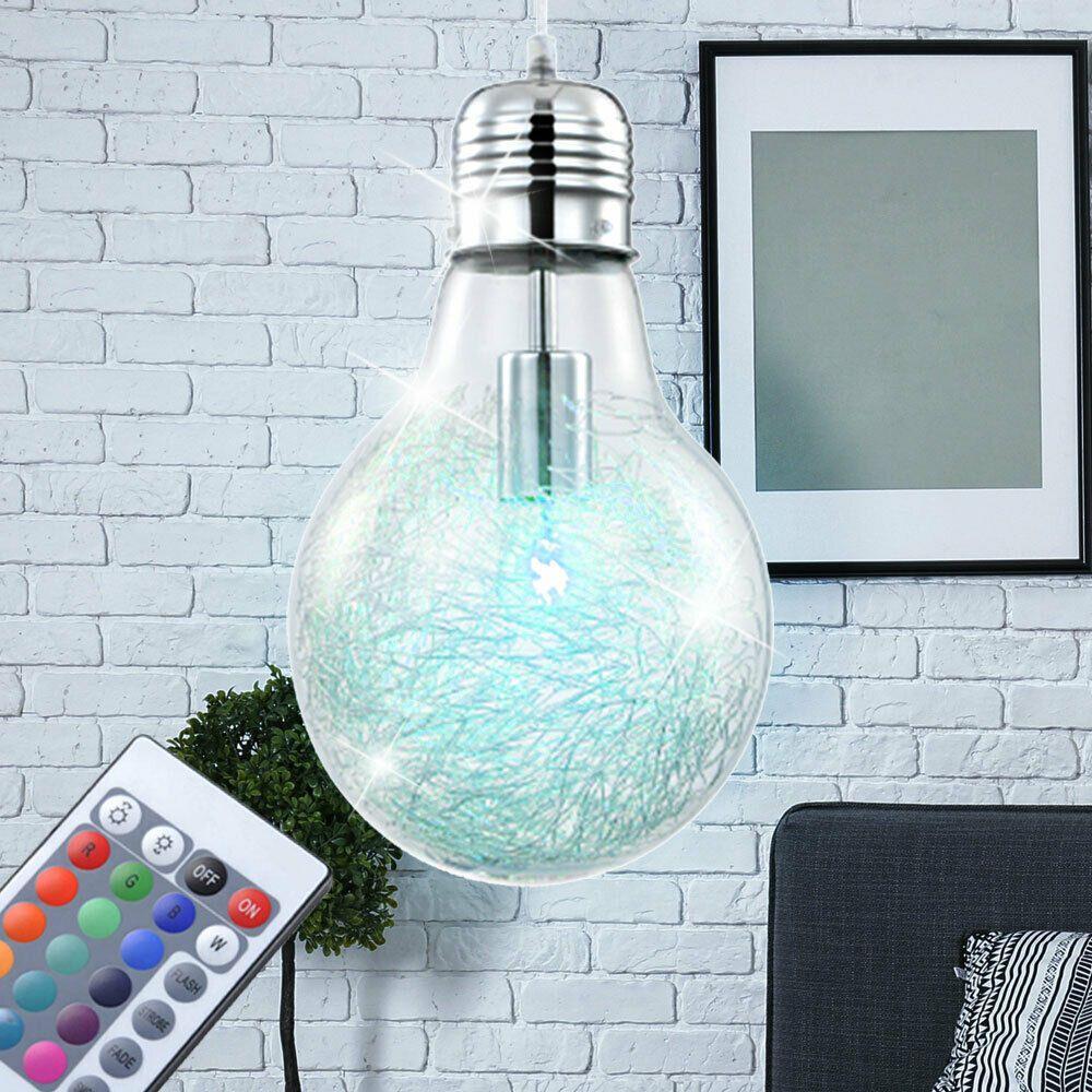 7 Watt RGB LED Decken Pendel Leuchte Farbwechsel Hänge Lampe