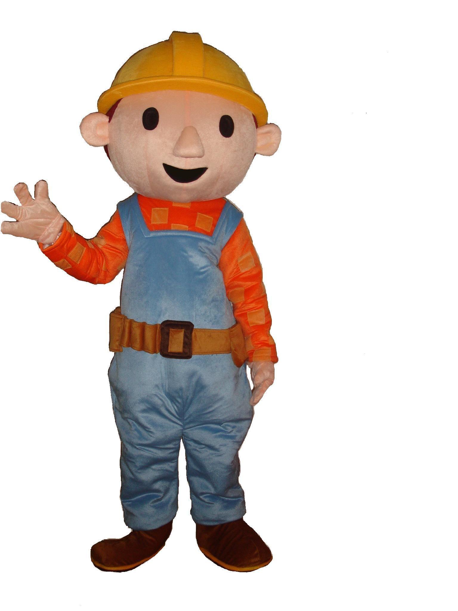 Bob the builder costume hire mascot costumes bob the