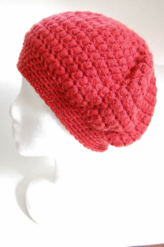 Lainey Slouch Beret Hat Crochet Pattern