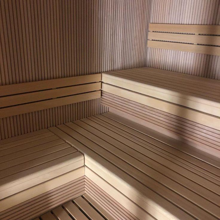 Lavori in corso sauna per hotel #sauna #amazing #amazingarchitecture #design # …