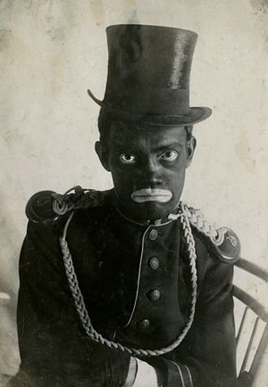 All photographs form the Jean-Marie Donat Collection From toddlers posing as minstrels to men blacked up to flog their sweet cider, these staggering pictures show attitudes to race from the 1880s to the late 1960s