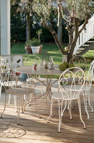 impressionnant salon de jardin fer forgé | Déco jardin in ...