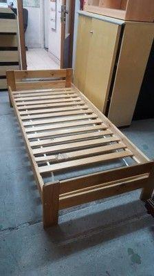 łóżko Sosnowe Pojedyncze 80zl Allegro Scarbonca Alle