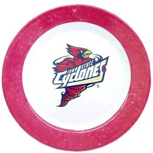 Iowa State Cyclones Dinner Plates (Set Of 4) by Duck House. $21.99. Made in China. NCAA Iowa State Cyclones Dinner Plates (Set of 4)