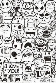 Hasil Gambar Untuk Doodle Seni Doodle Buku Mewarnai Doodle