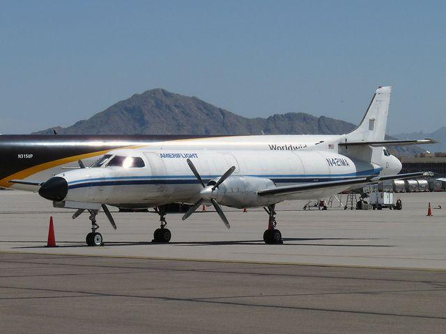 Metroliner Ameriflight Airplane Aircraft Plane