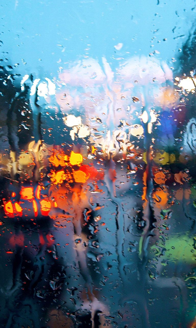 Wet Glass In 2019 Rain Wallpapers Iphone Background