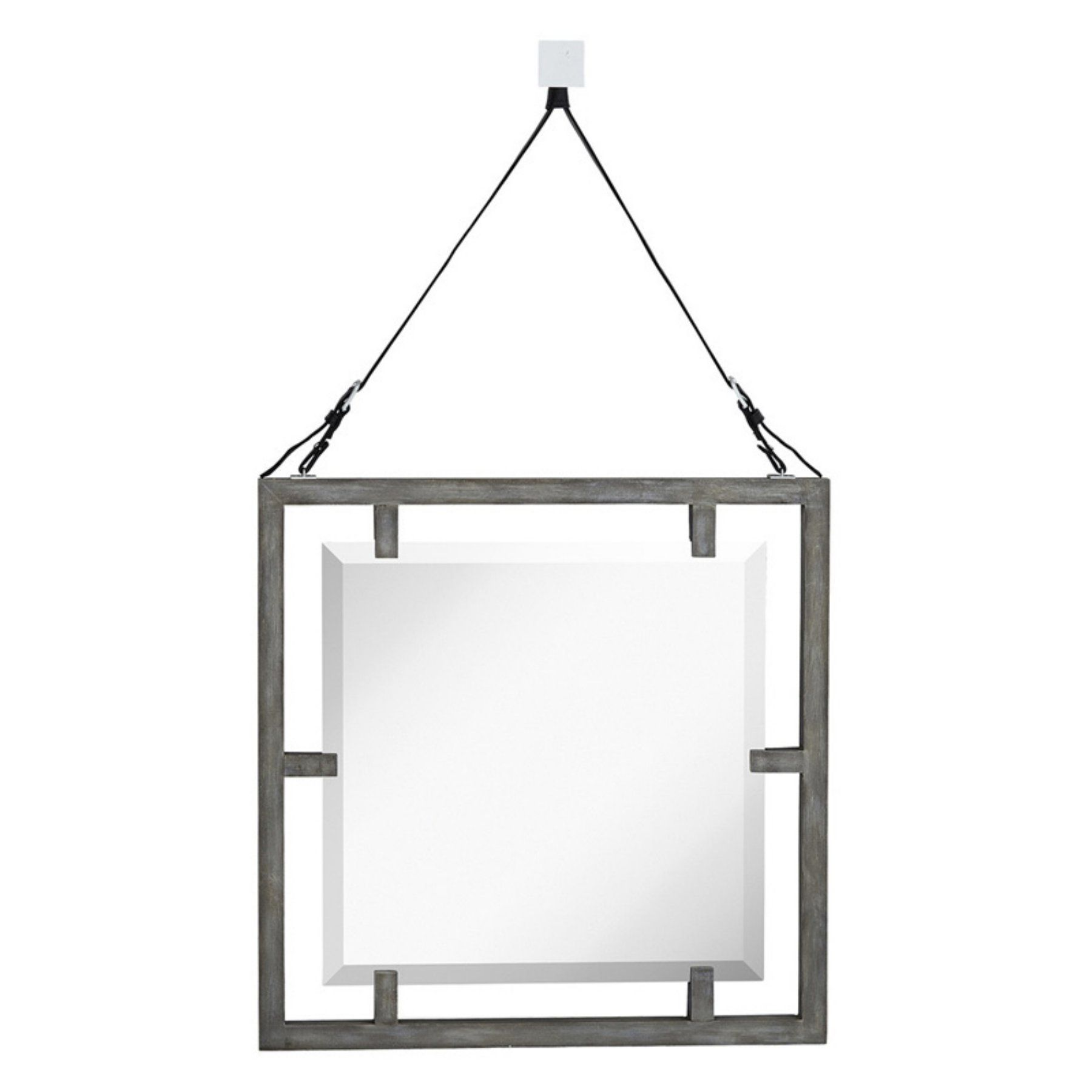 Rustic Hardwood Flooring Tips And Suggestion: Majestic Mirror Rustic Wood Framed Beveled Glass Hanging