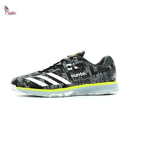 hot sale online 44a3b 180ff adidas Counterblast Falcon, Chaussures de Handball Homme, Gris (Granit  Ftwbla Amasol