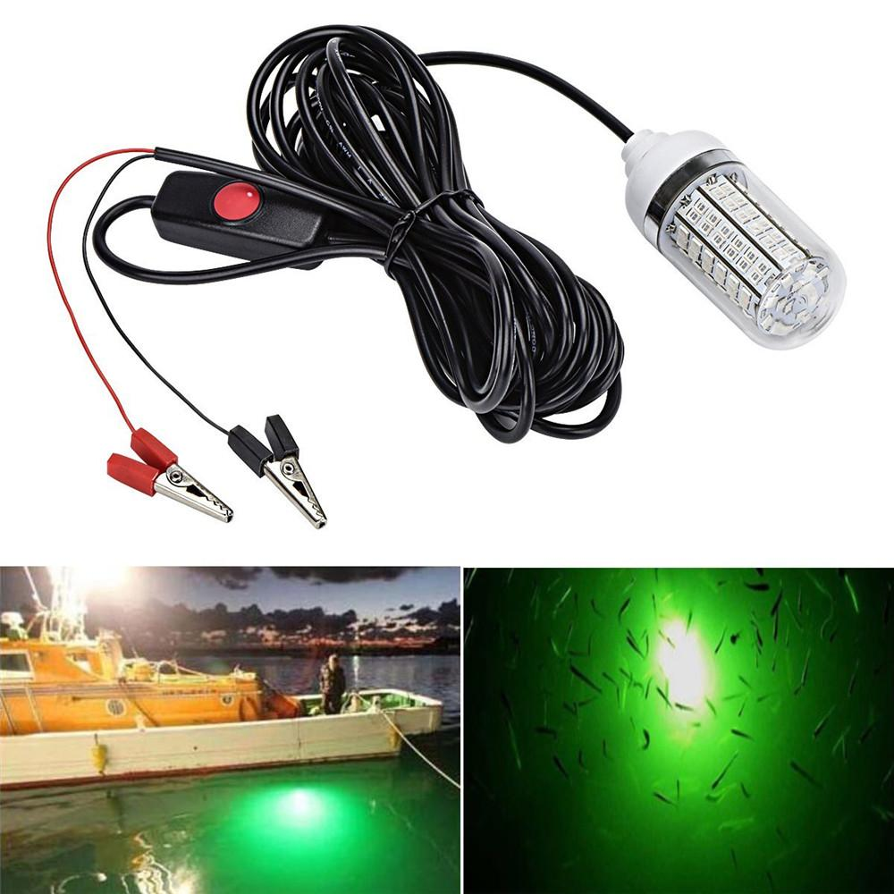 12V 15W Fishing Light 108 - 2835 LED Underwater Fishing
