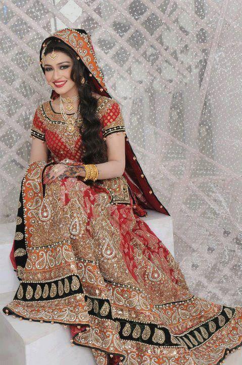 latest indian wedding dresses 2012