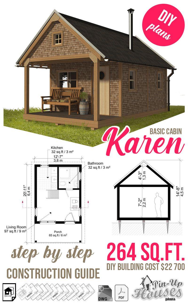 Basic Cabin Plans Cabin Plans Building Costs House Plans