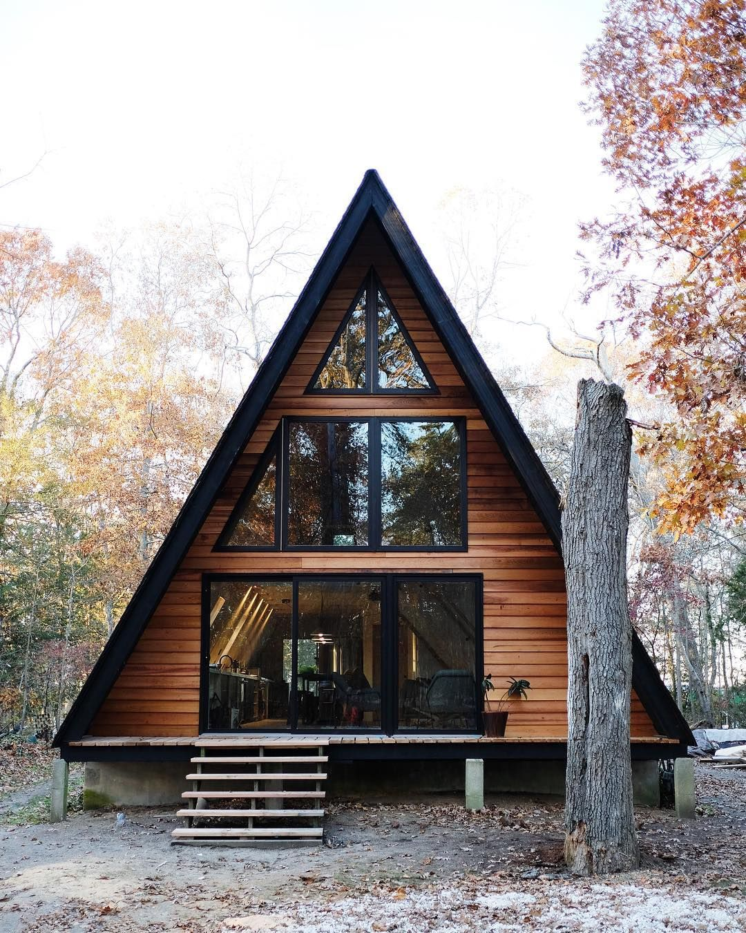 23 dreamy A-frame cabins we love | Cabin, House and Architecture