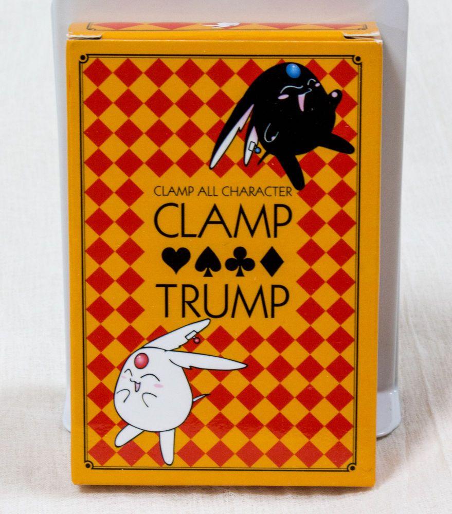 CLAMP All Character Trump Playing Cards CAPTOR SAKURA CODE GEASS JAPAN ANIME