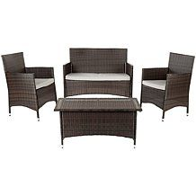 Safavieh Mojavi 4-Piece Outdoor Set