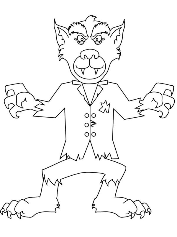 Werwolf | Halloween class party | Pinterest | Werwölfe