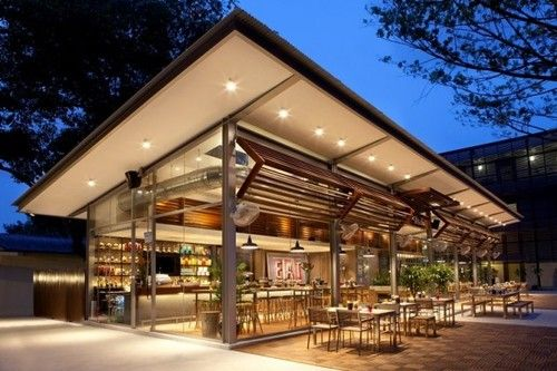 Contemporary Indoor Outdoor Restaurant Dope Folding Walls Uk