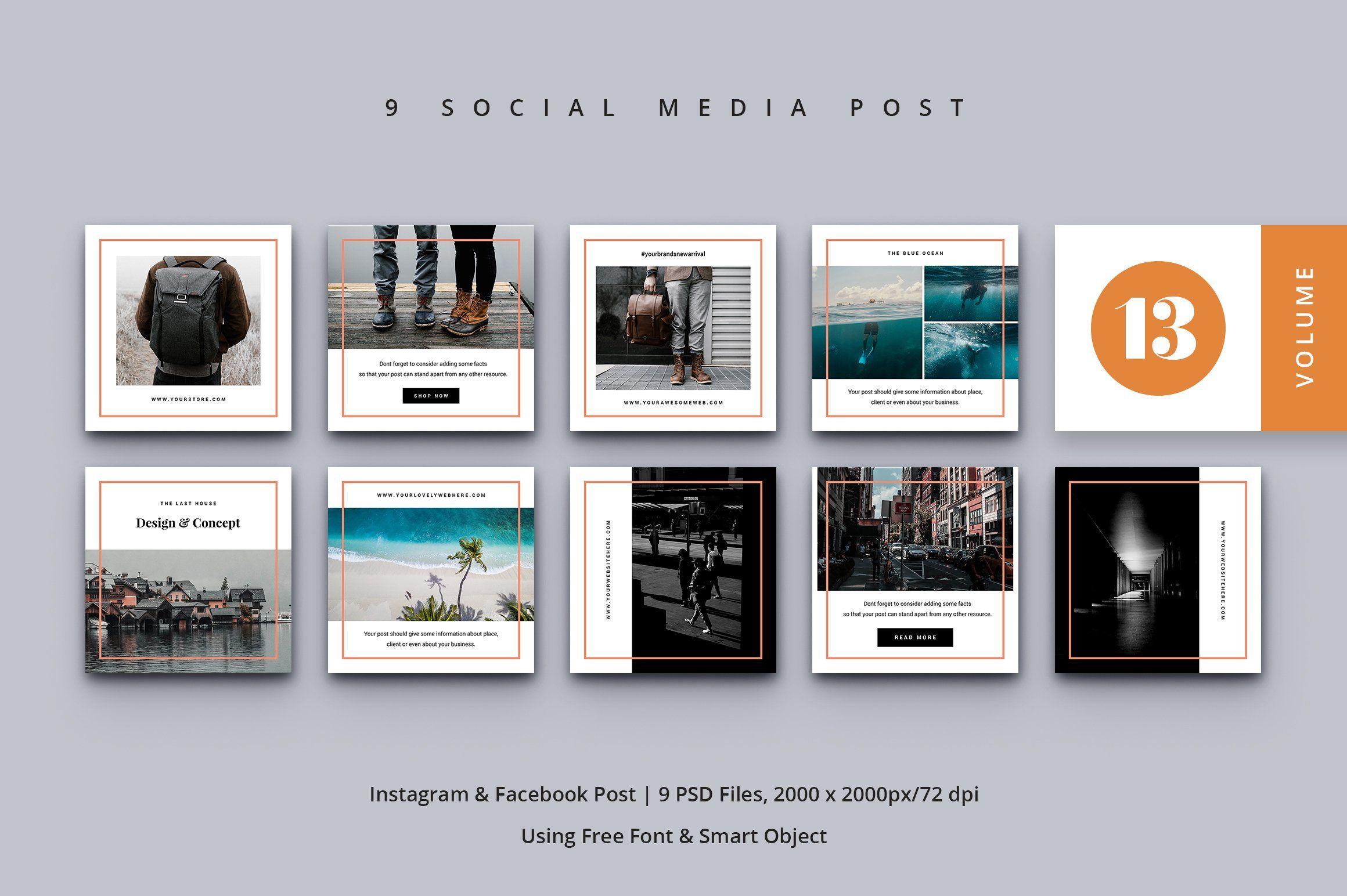 Social Media Kit Vol. 13 Ad , affiliate, Facebook