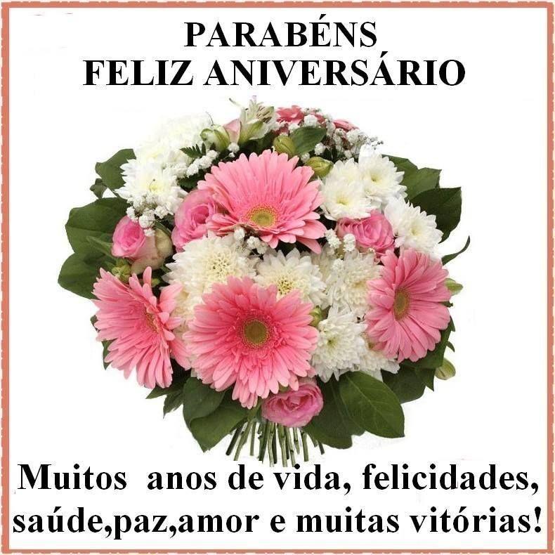 Mensagens com Flores   Parabéns, Feliz Aniversário!!! #felicidades #feliz_aniversario #parabens