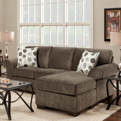 Ashburn 20 Quot Reversible Sectional Sectional Sofa Home Furniture Affordable Furniture