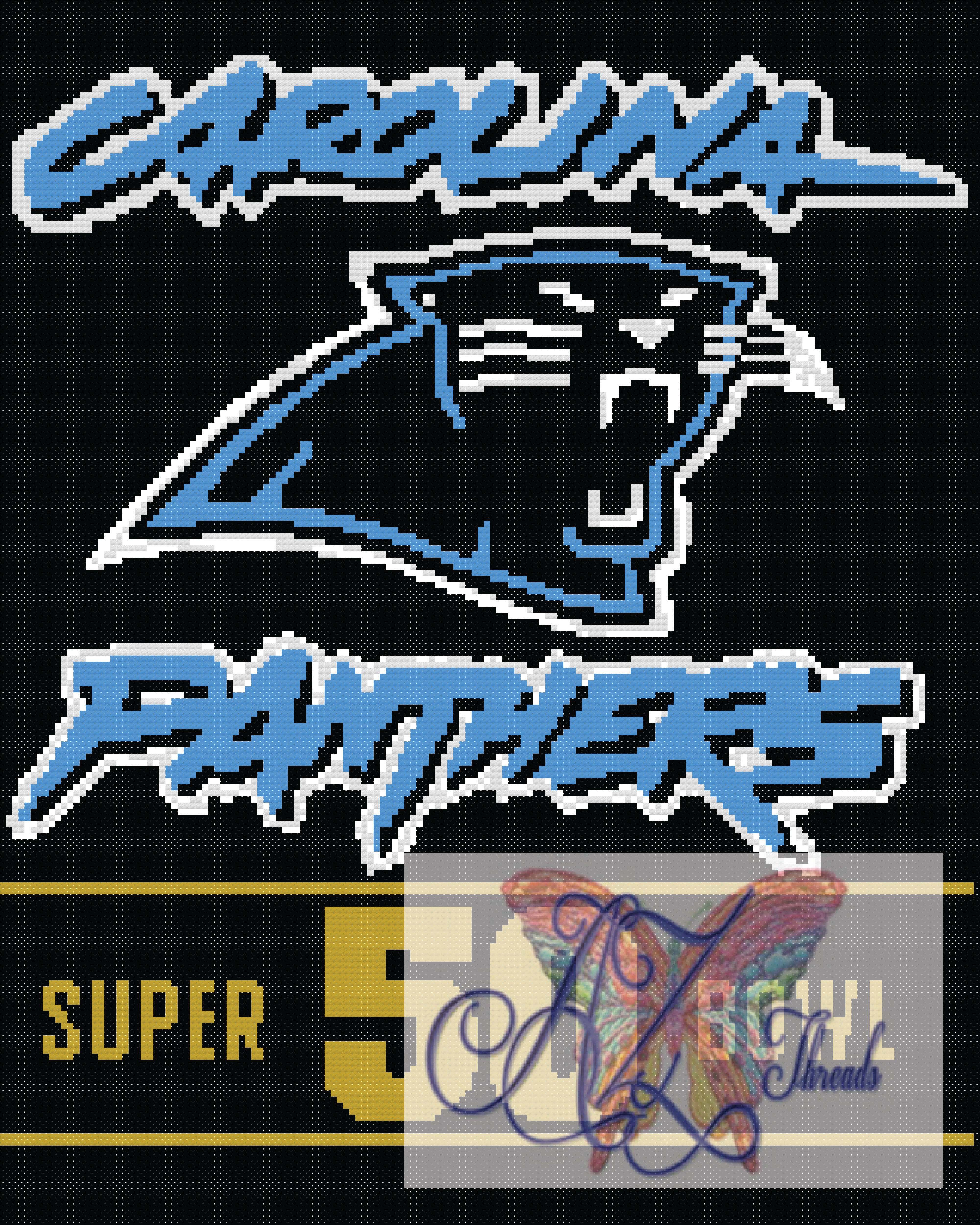 Panthers Super Bowl 50  Graph 160×200