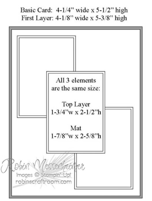 Like Layout Nice To Have Measurements Card Sketches Templates