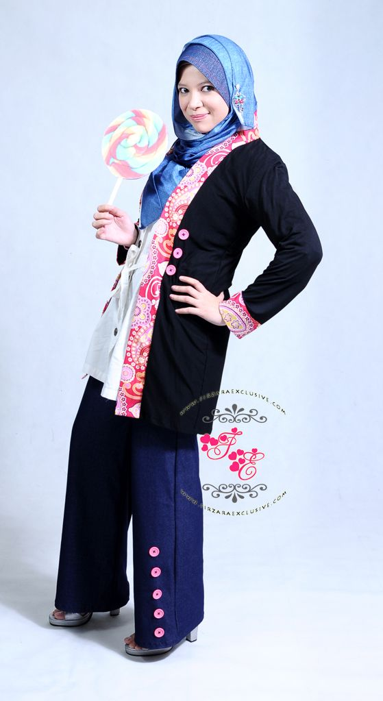 Black Cardigan from Firzara Exclusive
