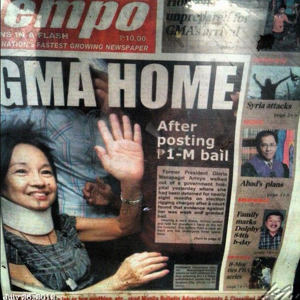TVのNewsはこればかり #gma #free #philippines #フィリピン